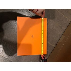 Hermès shoes box